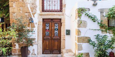 Smukke områder i Chania by på Kreta, Grækenland.