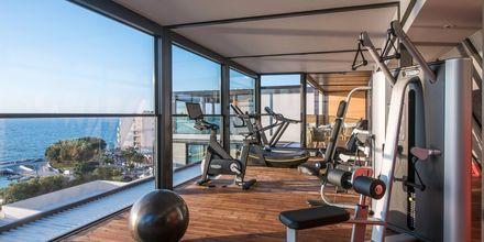 Fitnessrum på Hotel Chania Flair på Kreta, Grækenland.