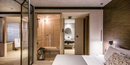 2-værelses suite på Hotel Chania Flair på Kreta, Grækenland.