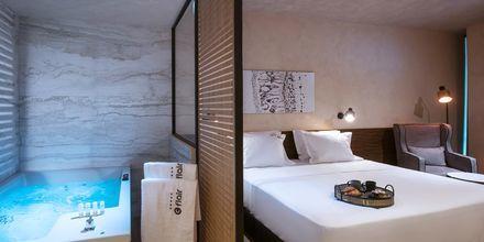 Junior-suite på Hotel Chania Flair på Kreta, Grækenland.