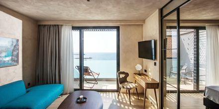 Penthouse suite på Hotel Chania Flair på Kreta, Grækenland.