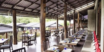 Restaurant KAN på Chura Samui Resort på Koh Samui, Thailand.