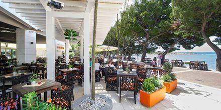 Restauranten ved Hotel City Beach på Makarska Riviera, Kroatien.