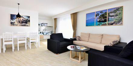 2- og 3-værelses lejlighed på Hotel City Beach på Makarska Riviera, Kroatien.