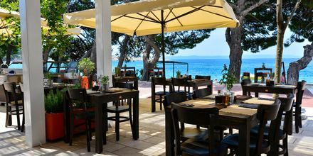Restaurant på Hotel City Beach på Makarska Riviera, Kroatien.