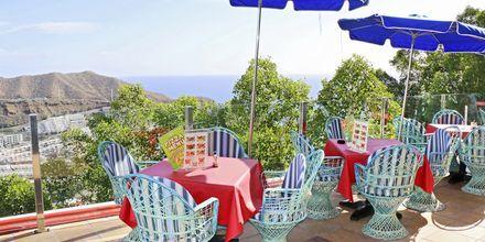 Pool-/snackbar på Hotel Colina Mar på Gran Canaria, De Kanariske Øer.