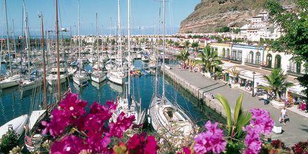 Puerto Mogan, Gran Canaria, De Kanariske Øer, Spanien.