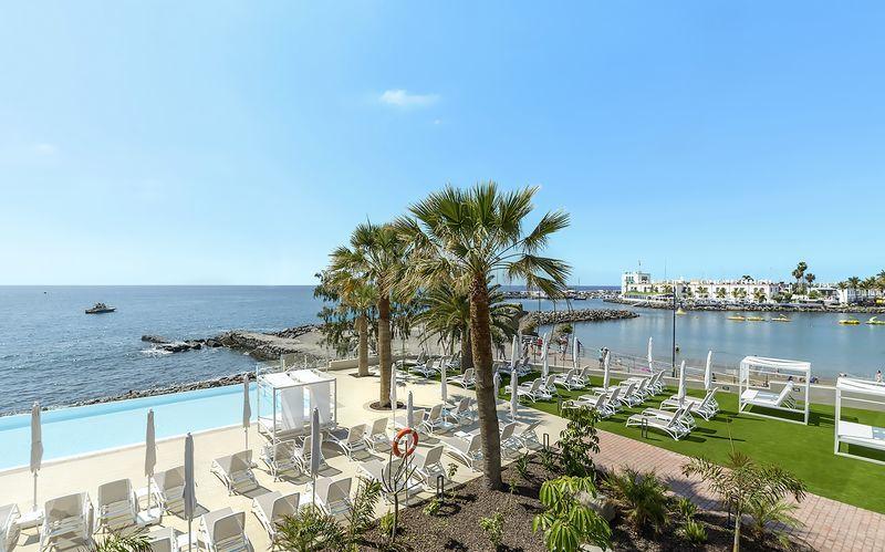 Poolområde på Cordial Muelle Viejo i Puerto Mogán, Gran Canaria.