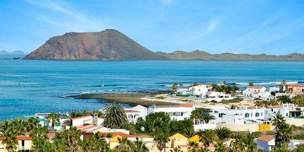 Corralejo på Fuerteventura, De Kanariske Øer, Spanien.