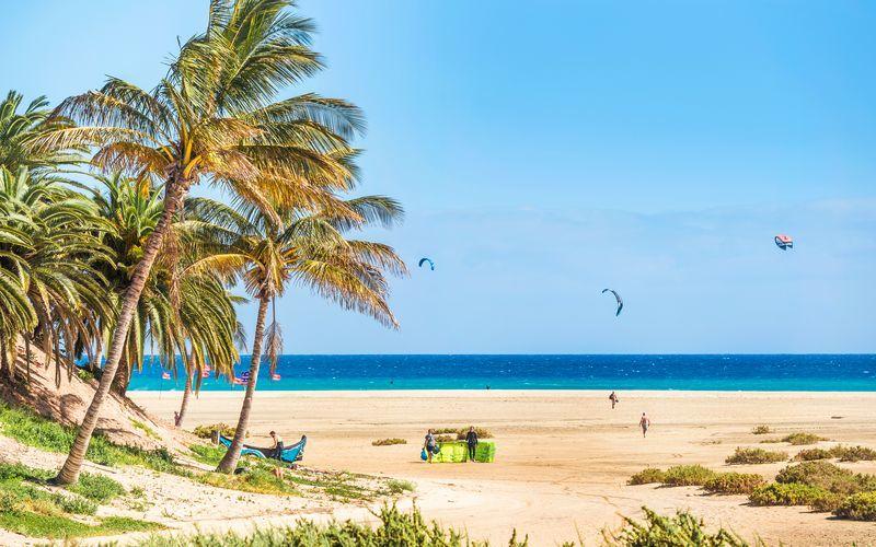Costa Calma/Playa Barca/Tarajalejo på Fuerteventura, De Kanariske Øer,