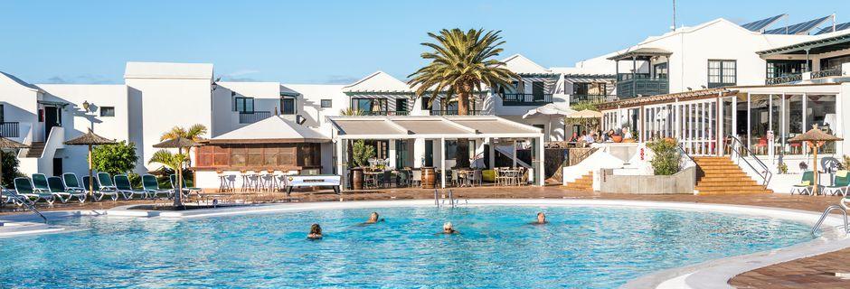 Poolområdet på hotel Costa Sal i Puerto del Carmen på Lanzarote, De Kanariske Øer