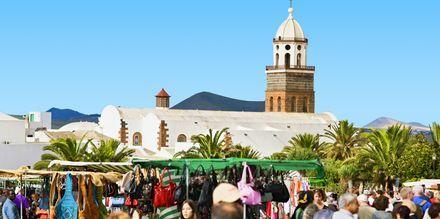 Marked i Costa Teguise på Lanzarote, De Kanariske Øer.