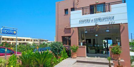 Hotel Costas & Christina i Platanias på Kreta, Grækenland.