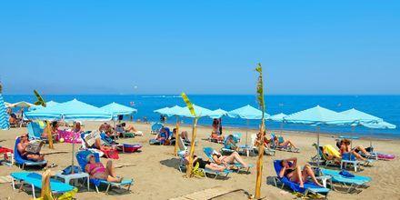 Stranden ved hotel Costas & Christina i Platanias på Kreta, Grækenland.