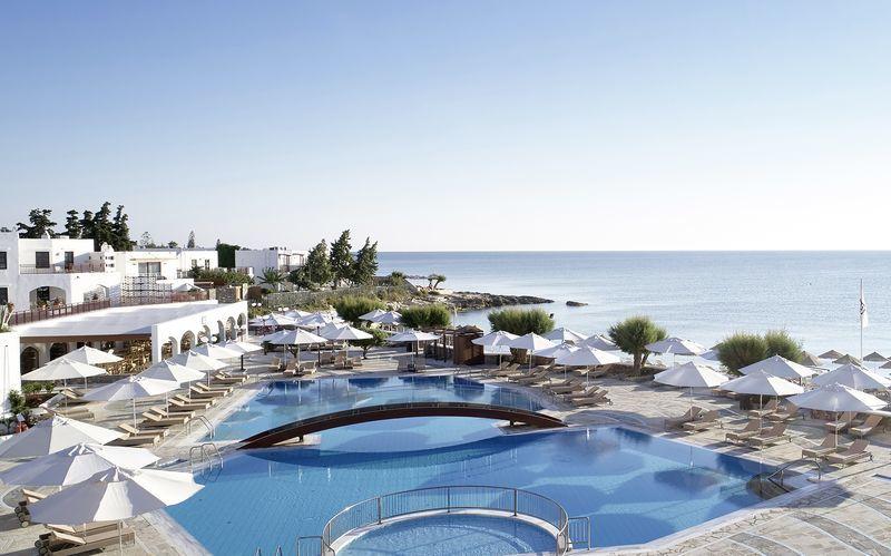 Poolområdet på Hotel Creta Maris Beach Resort på Kreta, Grækenland.