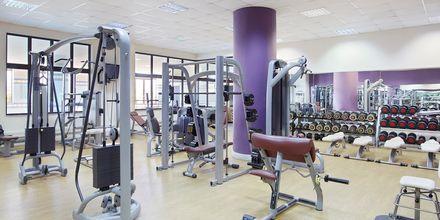 Fitnessrum på Hotel Creta Maris Beach Resort på Kreta, Grækenland.