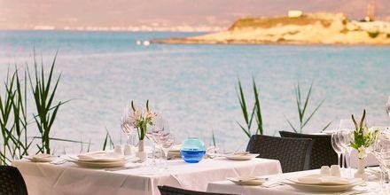 Restaurant Cochlias på Hotel Creta Maris Beach Resort på Kreta, Grækenland.