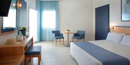 Dobbeltværelse på Hotel Creta Princess Aquapark & Spa på Kreta, Grækenland.