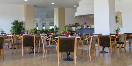 Lobby på Hotel Creta Princess Aquapark & Spa på Kreta, Grækenland.