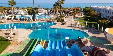 Vandrutsjebaner på Hotel Creta Princess Aquapark & Spa på Kreta, Grækenland.