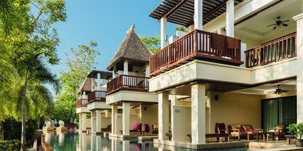 Poolområde på Hotel Crown Lanta Resort & Spa på Koh Lanta, Thailand.