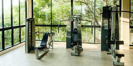 Fitnessrum på Hotel Crown Lanta Resort & Spa på Koh Lanta, Thailand.