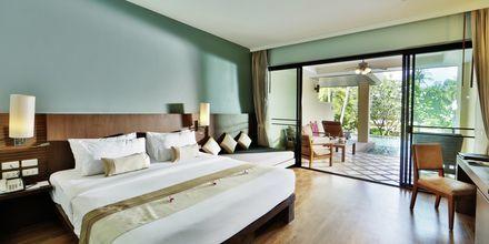 Dobbeltværelse på Hotel Crown Lanta Resort & Spa på Koh Lanta, Thailand.