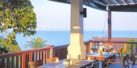 Restaurant med udsigt på Hotel Crown Lanta Resort & Spa på Koh Lanta, Thailand.
