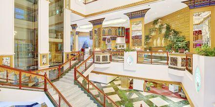 Lobby på Hotel Crowne Plaza Resort i Salalah, Oman.