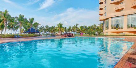 Pool på Hotel Crowne Plaza Resort i Salalah, Oman.
