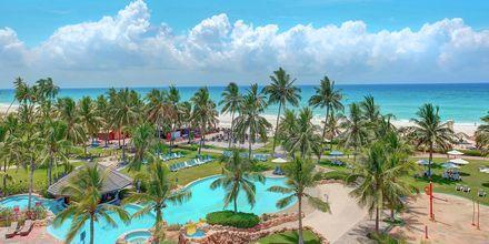 Hotel Crowne Plaza Resort i Salalah, Oman.