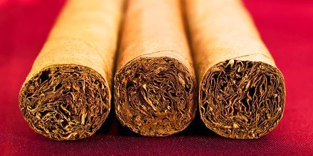 Håndrullede cigarer, Cuba.
