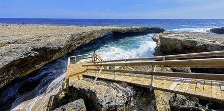 Nationalparken Shete Boka National er et skønt udflugtsmål i Curacao.