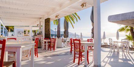 Strandrestaurant i Dassia på Korfu, Grækenland.