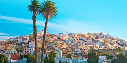 Las Palmas på Gran Canaria, De Kanariske Øer, Spanien.