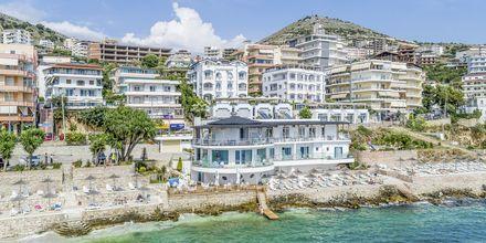 Hotel Delfini i Saranda i Albanien.