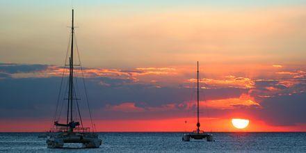 Solnedgang på Den Dominikanske Republik.