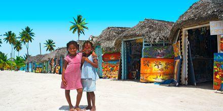 Den Dominikanske Republik.