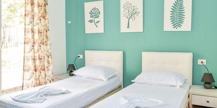 Dobbeltværelse på Diamma Resort, Durres Riviera i Albanien.