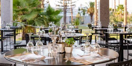 Restaurant på Hotel Diamond Boutique i Lambi på Kos, Grækenland.