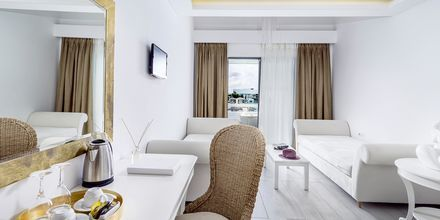 Suite på Hotel Diamond Deluxe Hotel i Lambi & Spa på Kos, Grækenland.