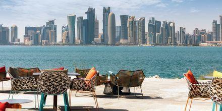 Doha i Qatar er en af verdens hurtigst voksende byer.