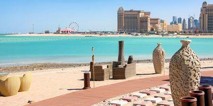Bystranden Katara Beach i Doha.