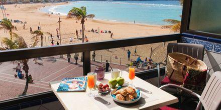Renoveret 1-værelses lejlighed på Hotel Don Carlos i Las Palmas på Gran Canaria, De Kanariske Øer, Spanien.