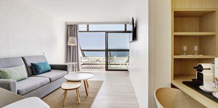 Suite i to etager på Hotel Don Gregory by Dunas på Gran Canaria, Spanien.