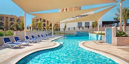 Børnepoolen på hotel Doubletree by Hilton Marjan Island i Ras al Khaimah, De Forenede Arabiske Emirater.