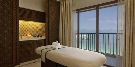 Spa på hotel Doubletree by Hilton Marjan Island i Ras al Khaimah, De Forenede Arabiske Emirater.