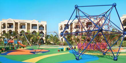 Legeplads på Hilton Marjan Island i Ras al Khaimah, De Forenede Arabiske Emirater.