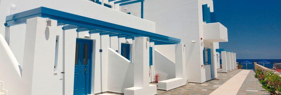 Hotel Dream Island på Tilos, Grækenland.