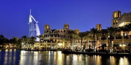 Burj Al Arab, det syvstjernede luksushotel i Dubai, De Forenede Arabiske Emirater.